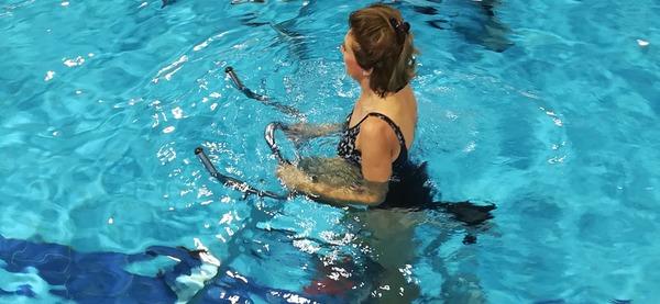 Piscine d'Aywaille, cours d'aquabike