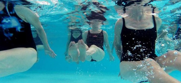 Piscine d'Aywaille, cours d'aquagym