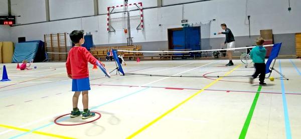 Centre sportif d'Aywaille, multisports / psychomotricité / tennis / 3-7 ans