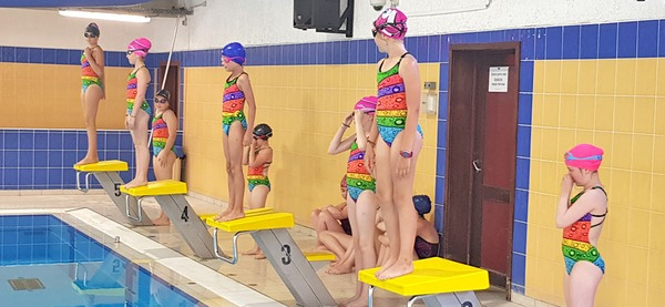 Piscine d'Aywaille, cours nage synchro