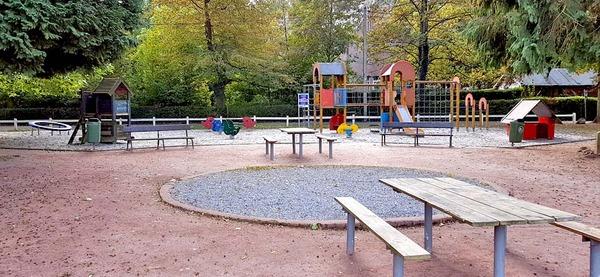 Parc de Sougné-Remouchamps, aire de jeux 2-6 ans