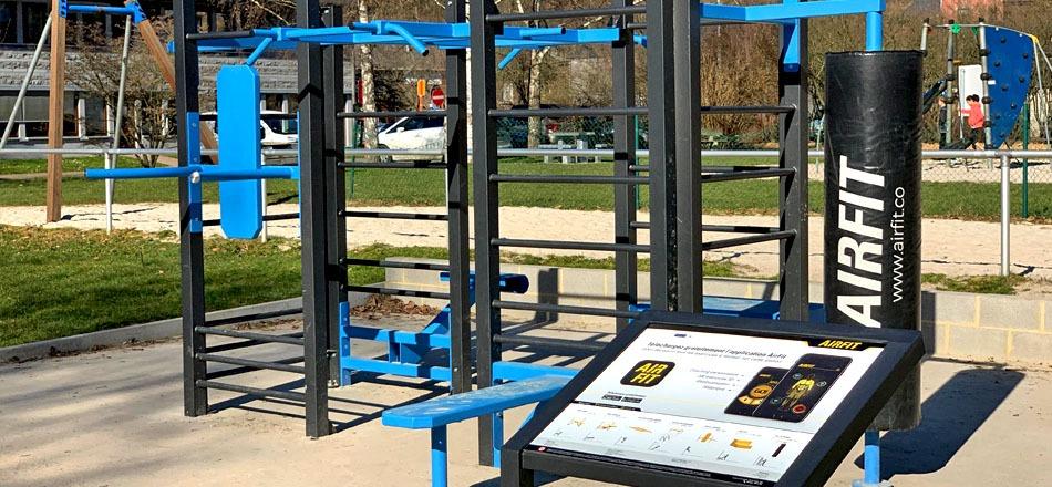 Zone AIRFIT pour la pratique du fitness