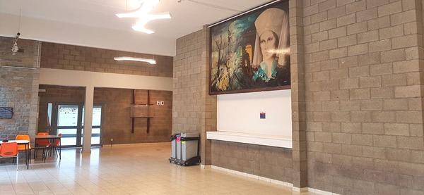 Centre récréatif de Remouchamps, hall d'entrée