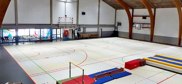Centre sportif d'Aywaille, hall omnisports