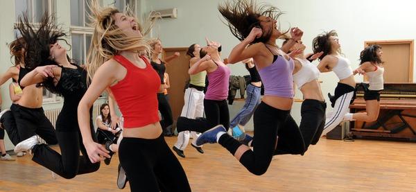 Stages du centre sportif d'Aywaille, danse remise en forme féminine 9 - 12 ans