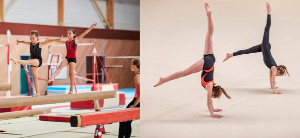 Stages du centre sportif d'Aywaille, gymnastique rythmique / gymnastique sportive féminine 9 - 12 ans