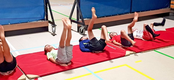 Stages du centre sportif d'Aywaille, multisports 7 - 10 ans