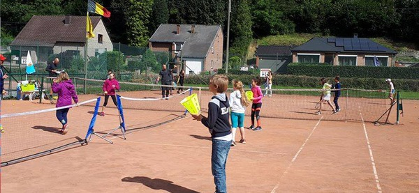 Stages centre sportif Aywaille, Tennis 9 - 12 ans