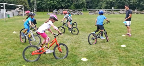 Stages du centre sportif d'Aywaille, vélo trail 7 - 12 ans